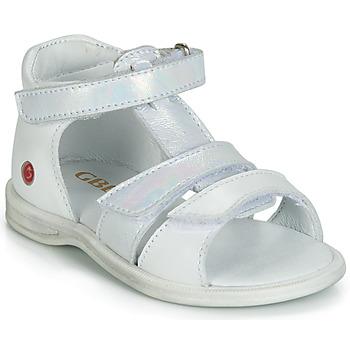Buty Dziewczynka Trampki wysokie GBB NAVIZA Biały