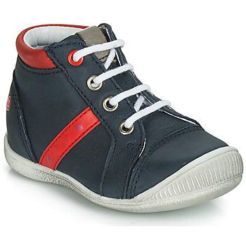 Buty Chłopiec Trampki wysokie GBB TARAVI Marine / Czerwony
