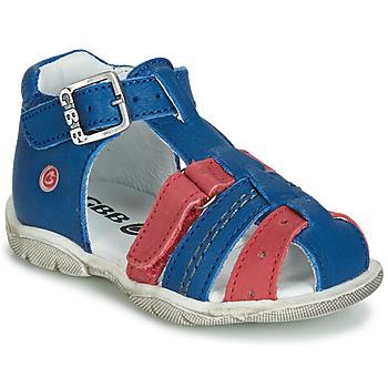 Buty Chłopiec Trampki wysokie GBB ARIGO Niebieski-czerwony