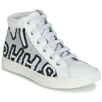 Buty Dziewczynka Trampki wysokie GBB MARTA Biały
