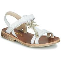 Buty Dziewczynka Sandały GBB SAPELA Biały