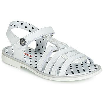 Buty Dziewczynka Sandały Catimini MUNDA Biały