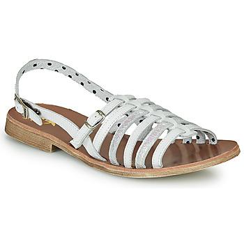Buty Dziewczynka Sandały Catimini NOBO Biały