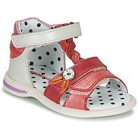 Buty Dziewczynka Sandały Catimini GOROKA Biały