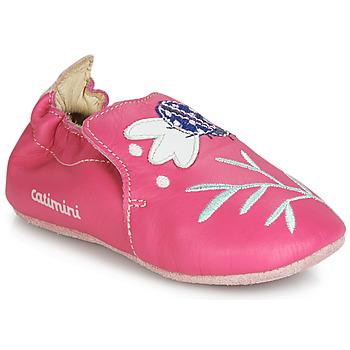 Buty Dziewczynka Obuwie domowe Catimini CASSIA Różowy