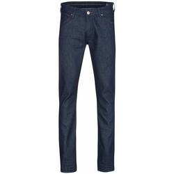 tekstylia Męskie Jeansy slim fit Wrangler ® Larston 18S6274J niebieski