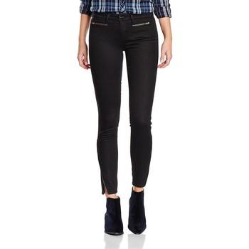 tekstylia Damskie Jeansy skinny Wrangler Jeansy ® Corynn Perfect Black W25FCK81H czarny