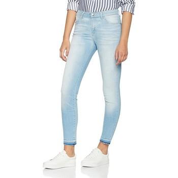 tekstylia Damskie Jeansy skinny Wrangler Jeansy  Skinny Sunkissed W28KLE86K niebieski
