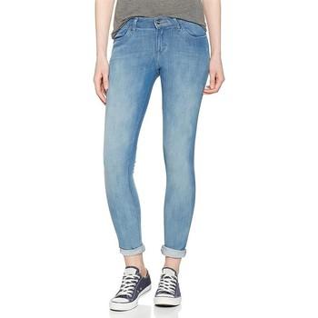 tekstylia Męskie Jeansy skinny Wrangler Jeansy  Super Skinny W29JPV86B niebieski