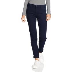 tekstylia Damskie Jeansy slim fit Lee ® Chino Herringbone L310YKMF niebieski