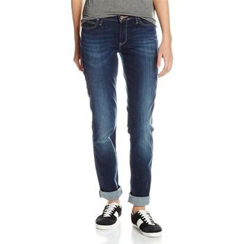 tekstylia Damskie Jeansy slim fit Lee ® Emlyn Night Porter 370GCIU niebieski