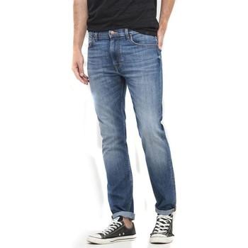 tekstylia Damskie Jeansy slim fit Lee Jeansy  Rider L701ACDK niebieski