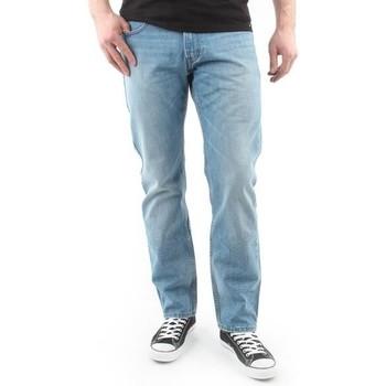 tekstylia Męskie Jeansy straight leg Lee Spodnie Męskie  Blake L73042PE niebieski