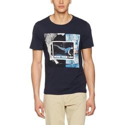 tekstylia Męskie T-shirty z krótkim rękawem Producent Niezdefiniowany Lee® Photo Tee 60QEPS niebieski