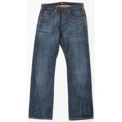 tekstylia Męskie Jeansy straight leg Lee JOEY 719CRSD niebieski