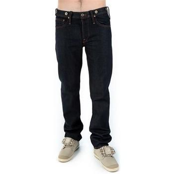 tekstylia Męskie Jeansy straight leg Lee ICON 1930'S  765ATBJ niebieski