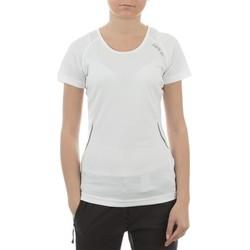 tekstylia Damskie T-shirty z krótkim rękawem Dare 2b T-shirt  Acquire T DWT080-900 biały