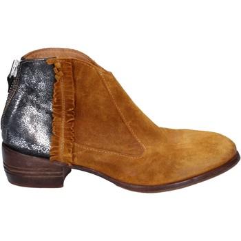 Buty Damskie Low boots Moma Buty Do Kostki BT10 Żółty