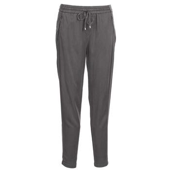 tekstylia Damskie Spodnie z lejącej tkaniny / Alladynki Esprit SIURO Szary