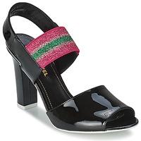 Buty Damskie Sandały Sonia Rykiel 683902 Czarny / Różowy