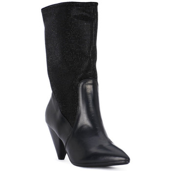Buty Damskie Low boots Juice Shoes TEVERE NERO STRASS NERI Nero