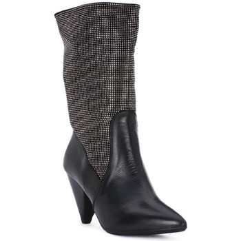 Buty Damskie Low boots Juice Shoes TEVERE NERO STRASS CANNA DI FUCILE Grigio