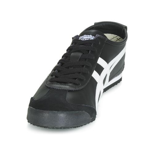 Onitsuka Tiger Mexico 66 Leather Czarny / Biały - Bezpłatna Dostawa- Buty Trampki Niskie 33915 Najniższa Cena