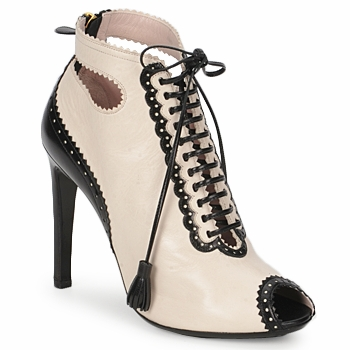 Buty Damskie Low boots Moschino MA1602A Beżowy
