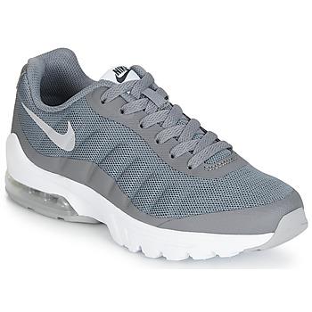 Buty Chłopiec Trampki niskie Nike AIR MAX INVIGOR GS Szary