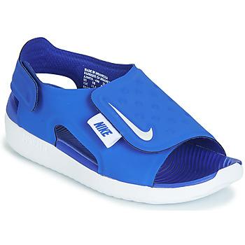 Buty Chłopiec Sandały Nike SUNRAY ADJUST 5 Niebieski
