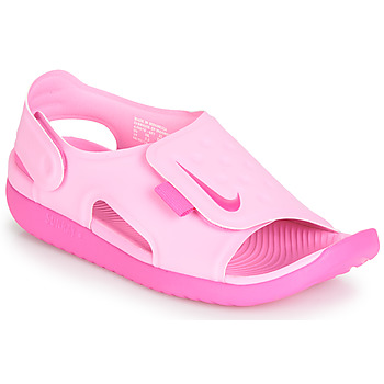 Buty Dziewczynka Sandały Nike SUNRAY ADJUST 5 Różowy