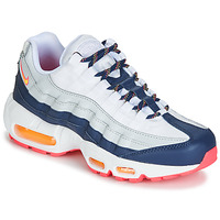 Buty Damskie Trampki niskie Nike AIR MAX 95 W Biały / Niebieski / Pomarańczowy